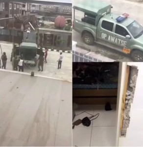 Houseboy Sent Away For Stealing, Mobilizes Soldier To Beat His Boss (Photos)