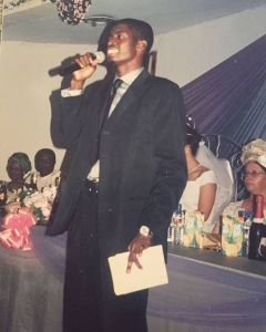 'The Blanket I Used To Call Suit' – Basketmouth Shares Throwback Photos