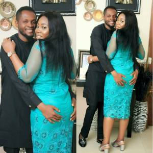 Husband Grabs His Wife's Backside While Posing For Picture, People React (Photo)
