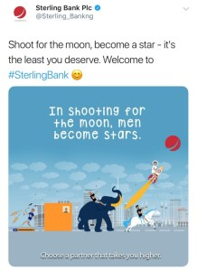 Sterling Bank Shades Access Bank, Gtbank, Union Bank And First Bank; They all fire back(Photos