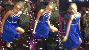 Comedian Emmanuella joins Duncan Mighty on stage to celebrate her 8th birthday (Video)