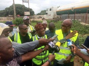 Lai Mohammed Inspects Road Constructions In Kwara State (photos)