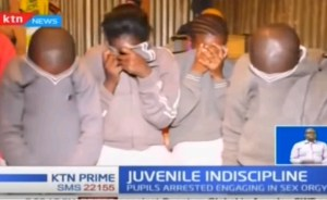 10 Primary School Students Caught Engaging In A Group Sex (Video)