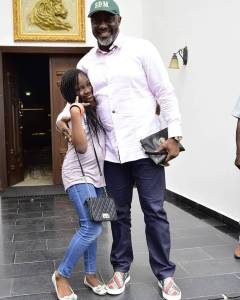 CUTE!!! Dino Melaye Poses With His Daughter (Photo)