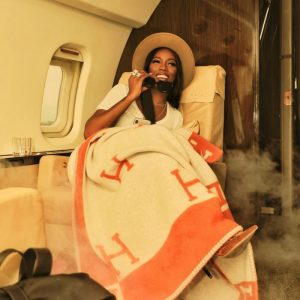 Tiwa Savage Jets Out In Style (Photos)
