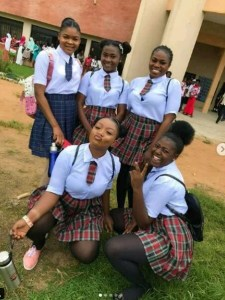 Osun State University Graduating Students Dressed In High School Uniforms (Photos)