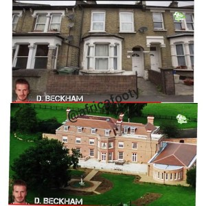 Old And New Houses Of Messi, Ronaldo, Ibrahimovic, Beckham (Photos)