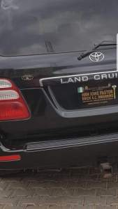 Check out this pastors plate number (Photo)