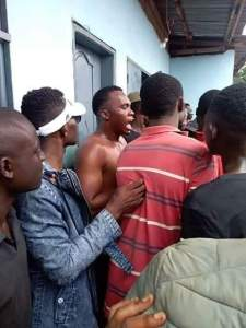 Food Seller Caught With Young Girl's Head In Her Restaurant (Graphic Photos)