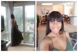 Popular Blogger, Linda Ikeji Arrives Atlanta To Deliver Baby Boy. (Photos)