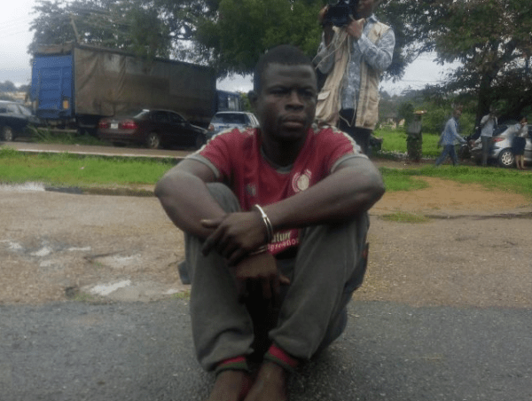 , Police arrest man with 3 human skulls in Ibadan (Photo), Effiezy - Top Nigerian News & Entertainment Website