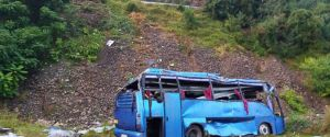 Tourist bus crashes in Bulgaria; 16 people reported dead