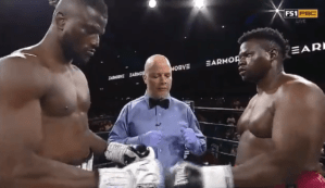 Nigerian Boxer, Efe Ajagba Wins A Fight Without Throwing A Punch After Opponent Walked Out Of Ring