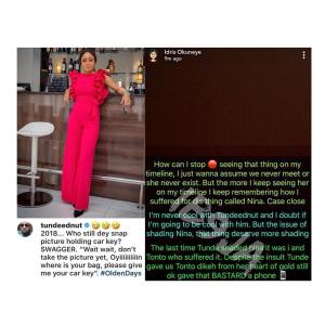 Bobrisky Blast BBnaija's Nina In Recent Photo, Calls Her A 'Thing' (Photo)