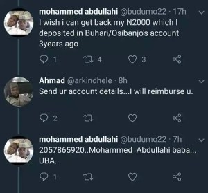 Man Regrets Donating N2000 To Buhari In 2015 & He Immediately Got Refunded