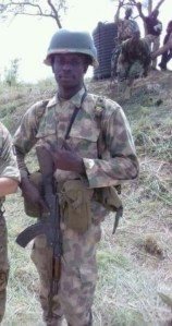, See Photos Of Nigerian Soldier Killed In Boko Haram Attack In Borno, Effiezy - Top Nigerian News & Entertainment Website