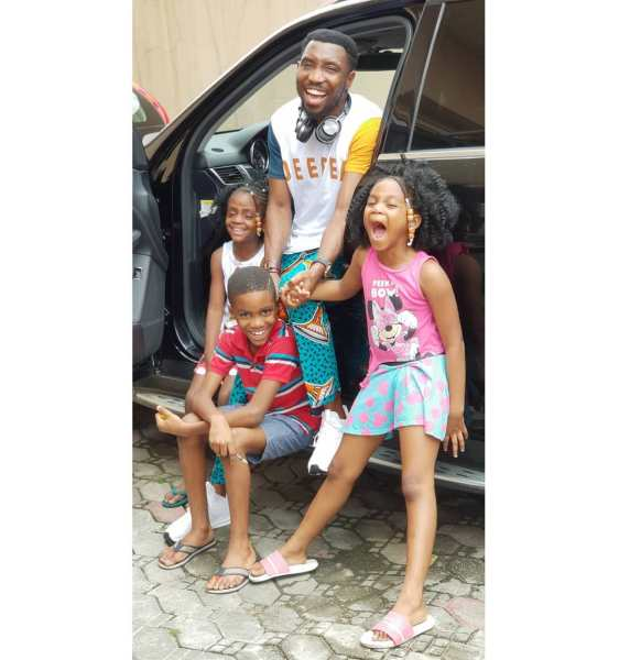 , BEAUTIFUL!!!  Singer, Timi Dakolo Shares Photos Of His Children (Photos), Effiezy - Top Nigerian News & Entertainment Website