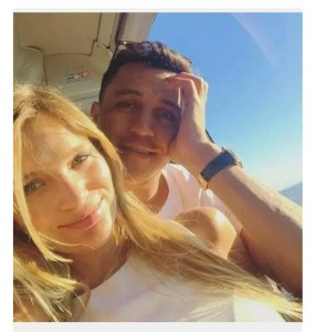 Alexis Sanchez Breaks Up With Mayte Rodriguez, His Girlfriend