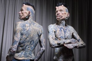 Tattooed Man With 561 Body Modifications Makes Guinness World Records