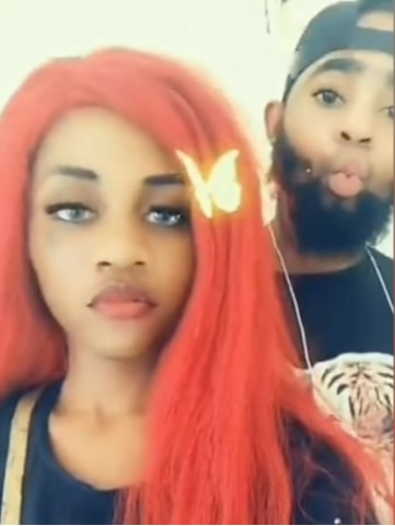 Slay queen and her boyfriend arrested after leaking sex tape online (Photos)