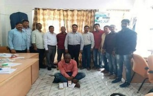 Nigerian Man Arrested With Cocaine In India (Photo)