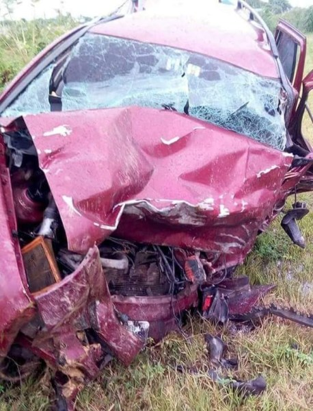 , SAD!! Man Who Promised To Donate To Buhari's Re-election Dies In Car Accident (Photos), Effiezy - Top Nigerian News & Entertainment Website