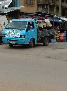 LOL: See the vehicle Road Safety officials uses in Anambra. (Photos)