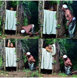 Man Peeping At His Fiancee In The Bathroom In Pre-Wedding (Photos)