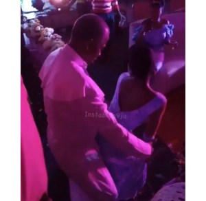 Prophet Seen Rocking A Lady At A Wedding In Ekiti (Video)