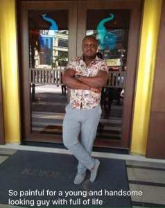 Nigerian Man Who Jumped From Building In Malaysia Dies (Photos)