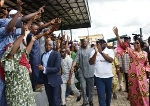 PHOTONEWS: Ambode At APC Presidential Primary In Epe