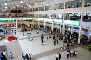 Disgruntled Workers Shut Down Lagos Airport Over Unpaid Salary, Passengers Stranded