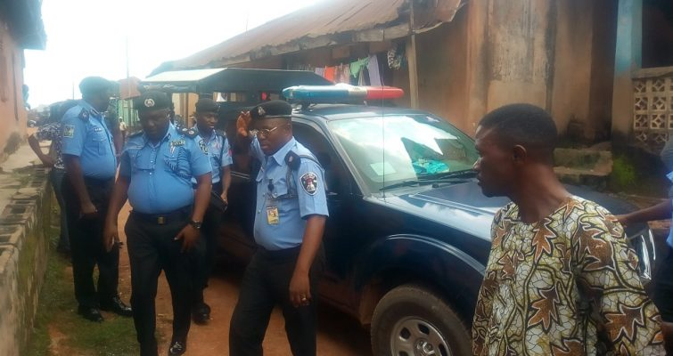 , 419 Syndicate's Shrine Dismantled By Police In Osogbo. Osun (Photos), Effiezy - Top Nigerian News & Entertainment Website
