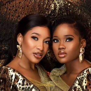 Tonto Dikeh And BBNaija Star, Cee-C Dazzle In New Photoshoot