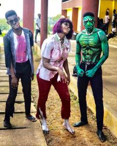 Check out Halloween costumes worn by FUNAAB students (Photos)