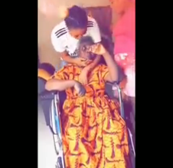 , SWEET!! Lady Celebrates Her Mum Who Has Been Down With Stroke (Video), Effiezy - Top Nigerian News & Entertainment Website