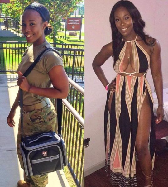 , HOT MAMA: Check out this hot female Air-force officer (Photos), Effiezy - Top Nigerian News & Entertainment Website