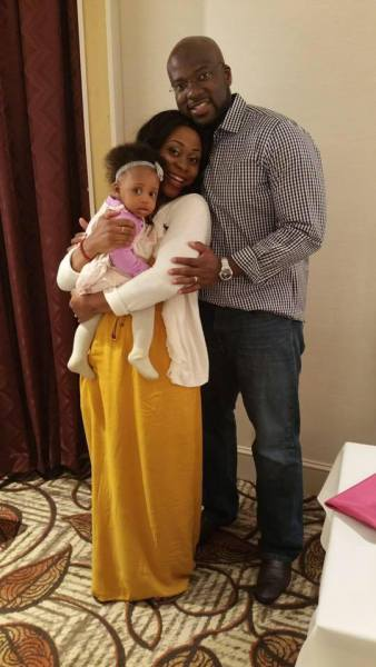 , Nigerian NFL star, Ifeanyi Momah Buys His Wife A Benz For Her 30th Birthday (Photo), Effiezy - Top Nigerian News & Entertainment Website