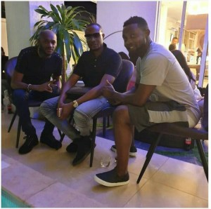 2face, Faze Alone And AY Makun Hangout Together (photo)