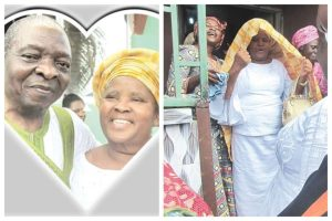 After 46 Years Of Marriage, 84-year-old Man Pays His Wife Dowry (Photos)