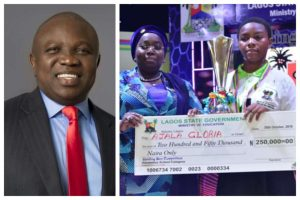 , 14-year-old barber's daughter emerges one-day Governor after winning 'Spelling Bee Competition', Effiezy - Top Nigerian News & Entertainment Website