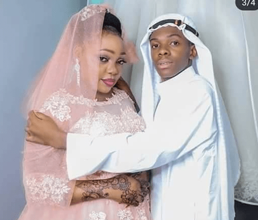 , 39-year-old lady marries her 19 years old lover (Photos), Effiezy - Top Nigerian News & Entertainment Website