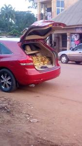 Check out this Toyota Venza used in selling bread in Anambra state (Photos)
