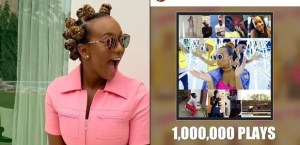 Dj Cuppy Celebrates As Her Song 'Werk' Clinches One Million Plays