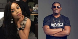 Don Jazzy And Toke Makinwa Shoot Their Shots At Each Other! (See Screenshots)