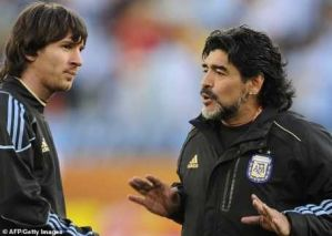 """""""Messi Is Not A Worthy Leader, Goes To Bathroom 20 Times Before A Match"""" – Diego Maradona"""