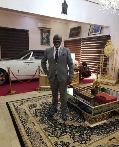 , Dino Melaye Poses With His Rolls Royce Phantom Parked In His Living Room (Photo), Effiezy - Top Nigerian News & Entertainment Website