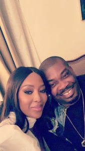 GOOD MATCH!! Star struck Don Jazzy hangs out with Naomi Campbell in Lagos (Photo)