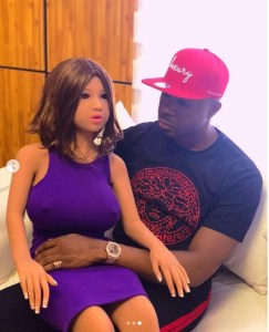 Pretty Mike Gets A Sex Doll For His Birthday (Photos)