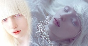 Check Out The Most Beautiful Albino Girl In The World (Photos)